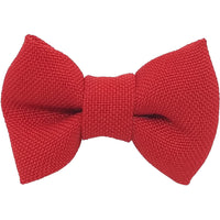 "1.5"", polyester, hair clip, clip, red"