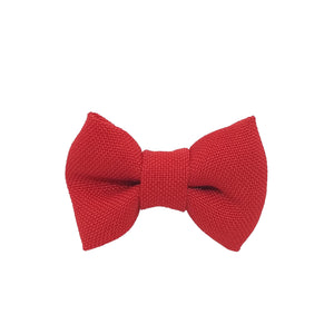 "Red 1.5"" Inch Small Bow clip Universal"