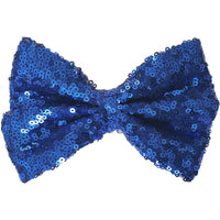 "5"", Sequin, 5-6"", Royal blue, blue"
