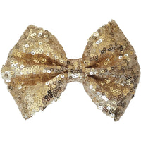 "5"", Sequin, 5-6"", Tan, Hair clip"