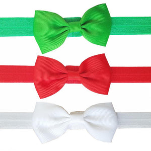 3 Pack Christmas Polyester Headbands
