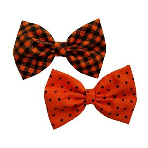 "2 4.5"" Pack Fall Hair bows"