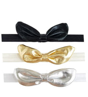 Metallic Knot Rabbit Ears Headband