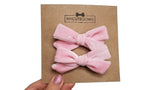 pigtail hair bows, pigtail velvet hair bows, velvet hair bow, velvet, velvet bow, my cute bows, mycutebows.com