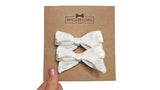 pigtail hair bows, pigtail velvet hair bows, velvet hair bow, velvet, velvet bow, my cute bows, mycutebows.com, white bow, white hair bows #hairbows