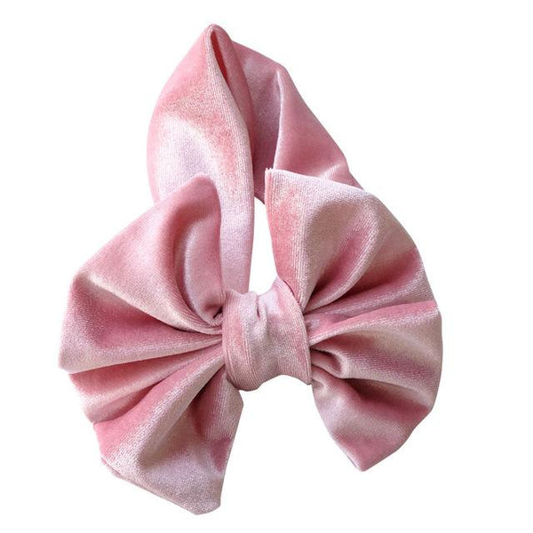 XL Bow Velvet Head band