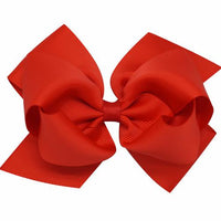 Lrg Christmas Grosgrain Hair Bows