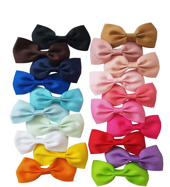 "20 Pack 2.75"" Inch Hair Bow Clips"