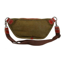 Retro Vintage Style Crazy Horse Leather Waistpack