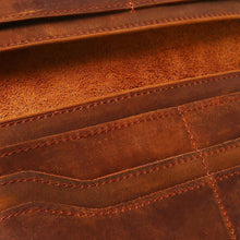 "Genuine Classic Leather Bifold Wallet- ""The Fratelli"""