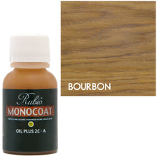Rubio Monocoat Oil Plus 2C-A Sample Wood Stain Bourbon