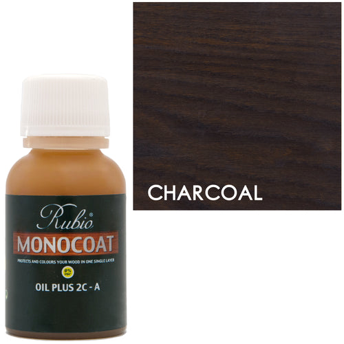 Rubio Monocoat Oil Plus 2C-A Sample Charcoal 0% VOC