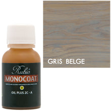 Rubio Monocoat Oil Plus 2C-A Sample Wood Stain Gris Belge