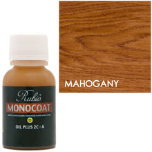 Rubio Monocoat Oil Plus 2C-A Sample Wood Stain Mahogany