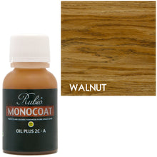 Rubio Monocoat Oil Plus 2C-A Sample Wood Stain Walnut