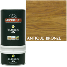 Rubio Monocoat Wood Stain Oil Plus 2C Antique Bronze ECO