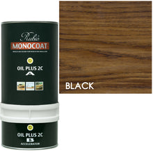 Rubio Monocoat Wood Stain Oil Plus 2C Black-ECO2