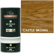 Rubio Monocoat Wood Stain Oil Plus 2C Castle Brown