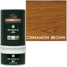 Rubio Monocoat Wood Stain Oil Plus 2C Cinnamon Brown