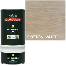 Rubio Monocoat Wood Stain Oil Plus 2C Cotton White