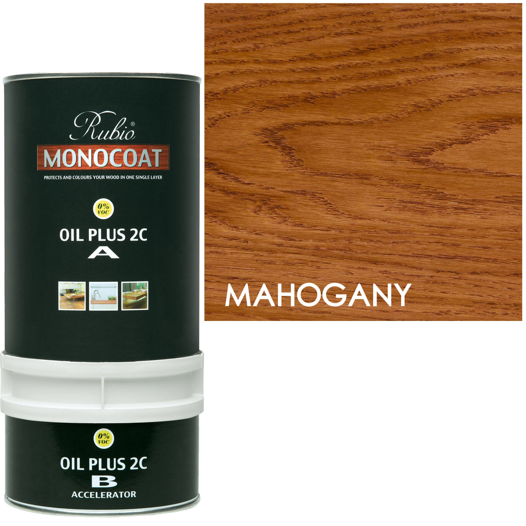 Rubio Monocoat Wood Stain Oil Plus 2C Mahogany