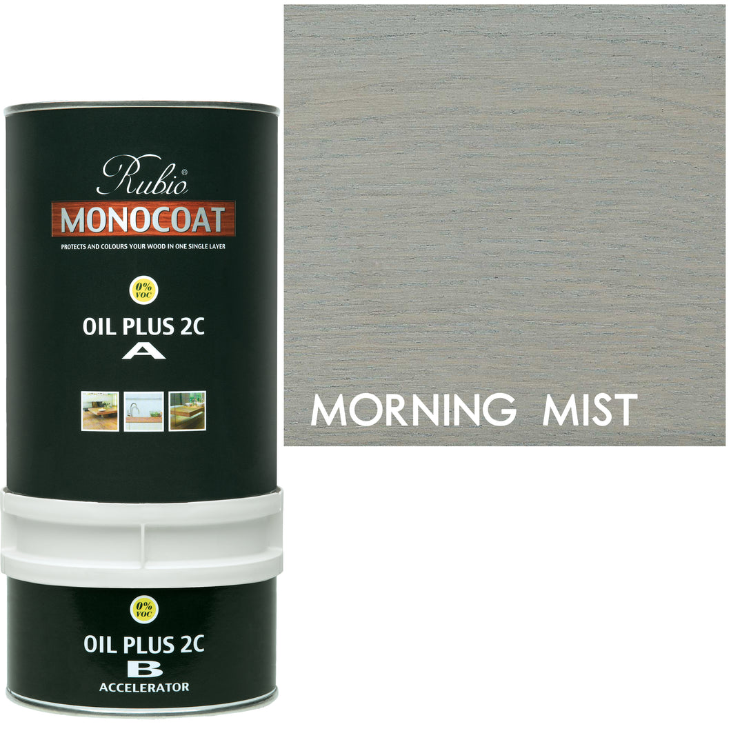 Rubio Monocoat Wood Stain Oil Plus 2C Morning Mist