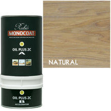 Rubio Monocoat Wood Stain Oil Plus 2C Natural