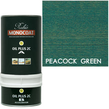 Rubio Monocoat Wood Stain Oil Plus 2C Peacock Green ECO