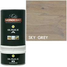 Rubio Monocoat Wood Stain Oil Plus 2C Sky Gray ECO