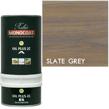 Rubio Monocoat Wood Stain Oil Plus 2C Slate Gray