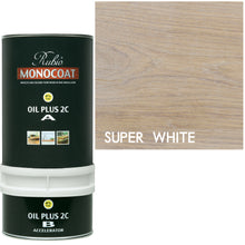 Rubio Monocoat Wood Stain Oil Plus 2C Super White-ECO