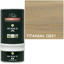 Rubio Monocoat Wood Stain Oil Plus 2C Titanium Gray ECO