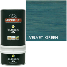 Rubio Monocoat Wood Stain Oil Plus 2C Velvet Green