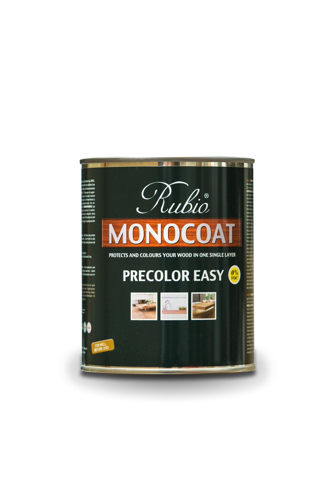 Rubio Monocoat Wood Stain Pre-Color Easy Monsoon Grey