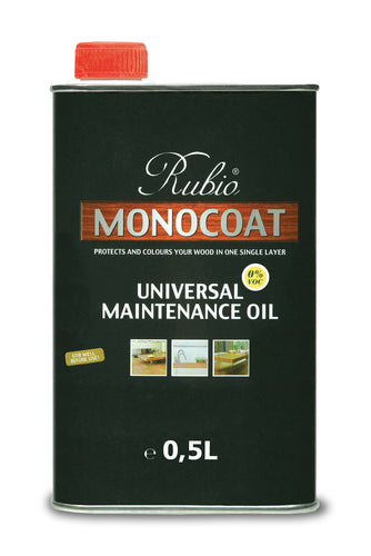 Rubio Monocoat Wood Stain Universal Maintenance Oil Pure