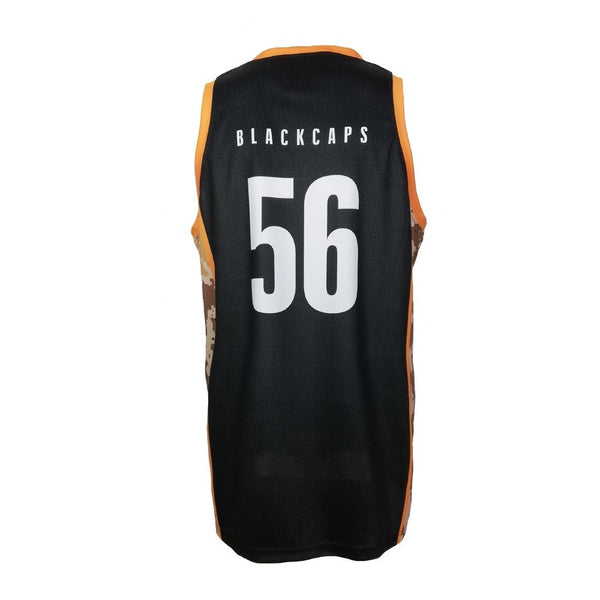 BLACKCAPS Supporters Kids Camo Singlet