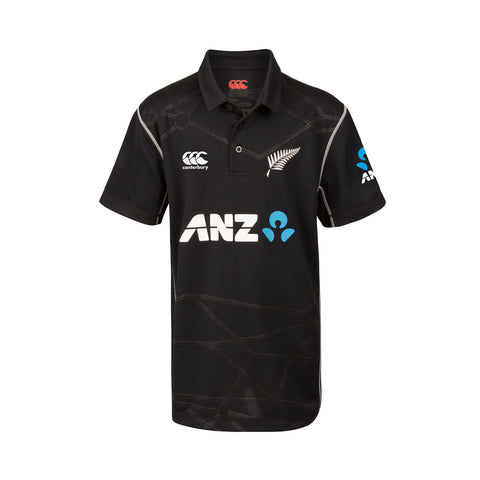 BLACKCAPS Replica ODI Kids Shirt
