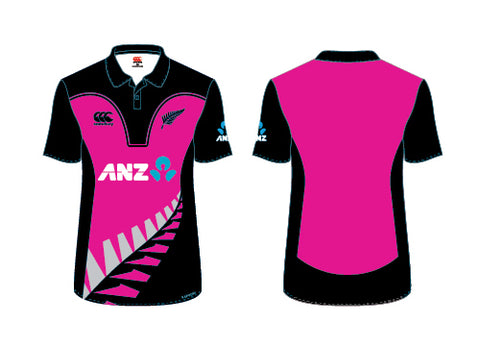WHITE FERNS Adults T20 Replica Shirt