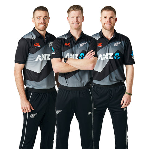 BLACKCAPS Replica Kids T20 Shirt (2020/21)