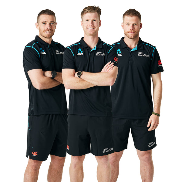 BLACKCAPS NZC Travel Polo