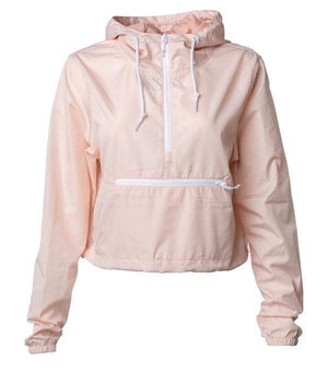 EXP64CRP WOMEN'S LIGHTWEIGHT CROP WINDBREAKER