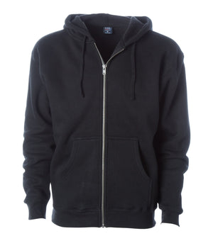 IND6000Z. Men's Super Heavyweight Zip Hooded Sweatshirt