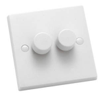 Hamln KP2X40 Dimmer Switch 2G 400W