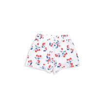 short allover cherry print