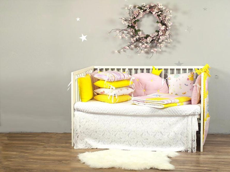 Baby Crib Bumper Princess Dream