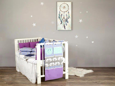 Crib Organizer Fox Night