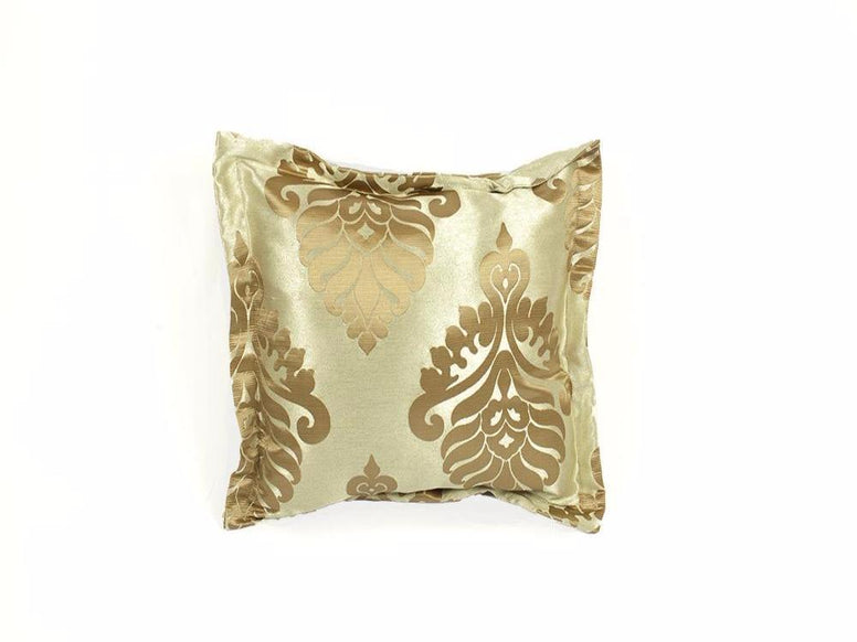Gold Leaves Pillow Set