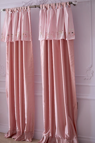 Custom Curtains Pink Dreams