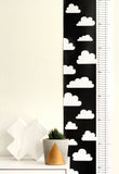 Monochrome cloud height chart