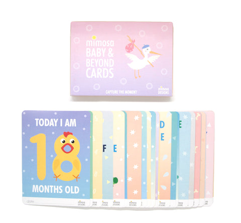 Mimosa Toddler Cards. 1-3 years